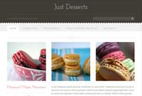 Just Desserts - WordPress theme