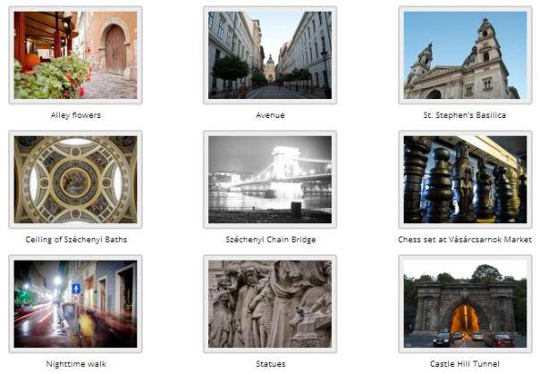 grid of pics