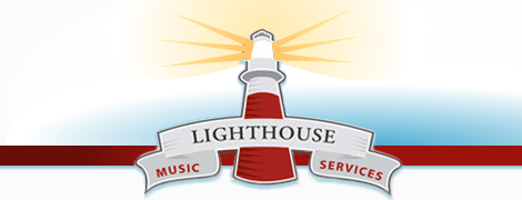 web design: lighthouse music