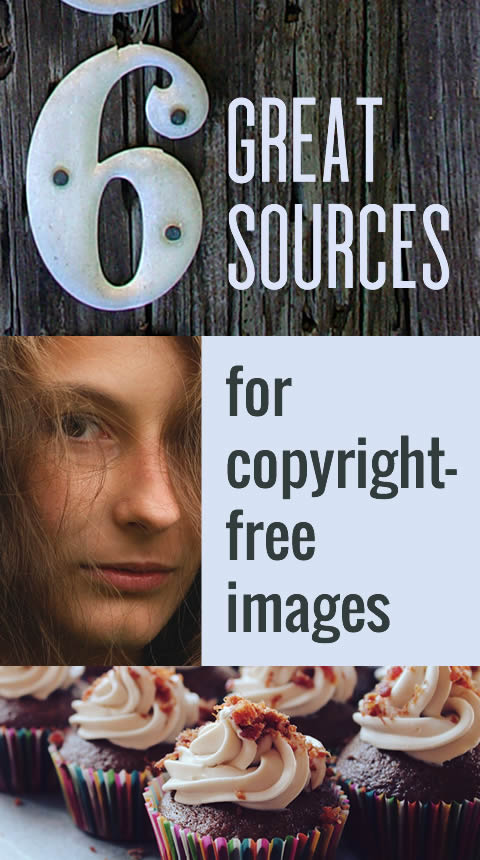 6 great sources for copyright-free images