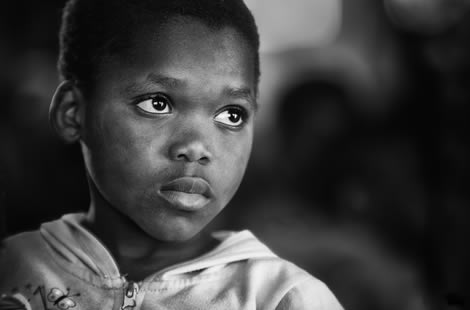 African orphan - photo from Pixaby